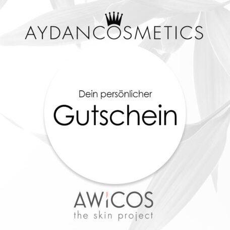 Geschenkgutschein für AWiCOS und Aydan Cosmetics