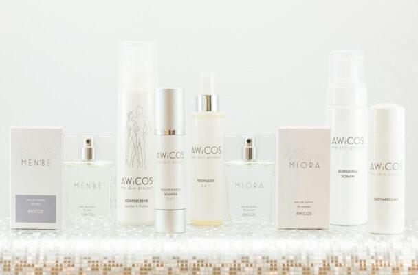 Kosmetik-Produkte von AWiCOS